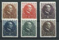 Autriche 1930 - AFA 426-31 - Neuf avec charnières
