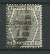 Angleterre 1872 - AFA 39 - Oblitéré