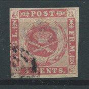 Antilles danoises 1866 - AFA 2 - Oblitéré
