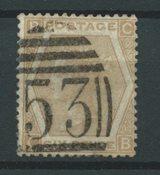 Angleterre 1872 - AFA 38 - Oblitéré