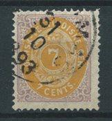 Antilles danoises 1873 - AFA 8 - Oblitéré