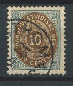 Antilles danoises 1901 - AFA 11B - Oblitéré