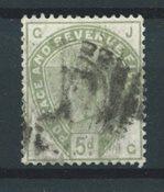 Angleterre 1883 - AFA 78 - Oblitéré