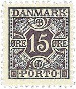 Danmark 1937 - AFA Porto 36a - Postfrisk