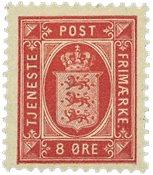 Danmark - AFA tjenestemærke 6B - Ubrugt