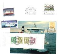 Finland - Skibe - Frimærkepakke
