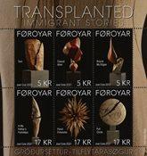 Færøerne - Transplanted, Immigrant - Postfrisk miniark