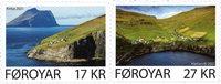 Færøerne - Kirkja & Hattarvik - Postfrisk sæt 2v
