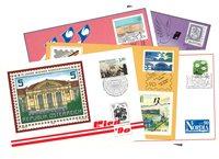 Suomi - Suomen postin näyttelykortit 1990