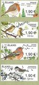 Åland Islands - Songbirds - Mint set 4v