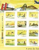 Brasilien - Fodbold VM 2014 - Postfrisk sæt