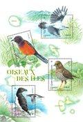 Francia - Pájaros - Hoja bloque nuevo