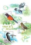 France - Birds - Mint souvenir sheet
