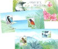 France - Birds - Mint souvenir sheet in folder