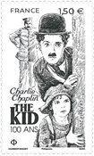 France - Charlie Chaplin - Mint stamp
