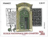 Frankrig - Universitetet for arkivstudier - Postfrisk frimærke