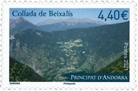 French Andorra - Collada Beixalis - Mint stamp