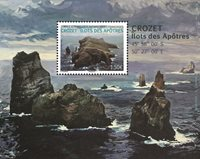 Fransk Antarktis - Crozet Ilots des Apôtres - Postfrisk miniark