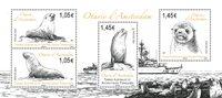 Fransk Antarktis - Søløver - Postfrisk miniark