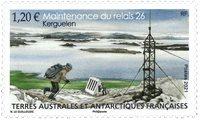 Fransk Antarktis - Vedligeholdelse af udstyr - Postfrisk frimærke