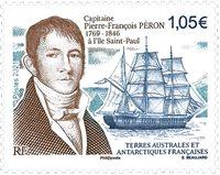 Fransk Antarktis - Pierre F.Peron - Postfrisk frimærke