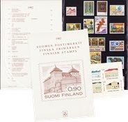 Finland - Postfrisk årsmappe 1982