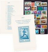 Finland - Postfrisk årsmappe 1973