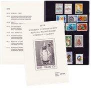 Finland - Postfrisk årsmappe 1972