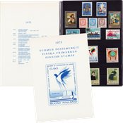 Finland - Postfrisk årsmappe 1975