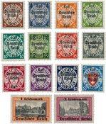 Tyske Rige 1939 - MICHEL 716-29 - Postfrisk