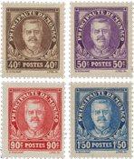 Monaco 1933 - YT 115-118 - Postfrisk