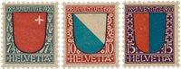 Suisse 1920 - MICHEL 153-55 - Neuf