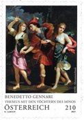 Østrig - Benedetto Gennari - Postfrisk frimærke