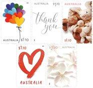 Australien - Særlige anledninger - Postfrisk sæt 5v
