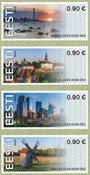 Estland - Frama Visit Estonia - Postfrisk sæt 4v