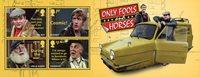 England - Only Fools & Horses - Postfrisk miniark