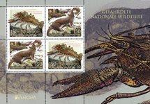 Liechtenstein - EUROPA 2021 Endangered National Wildlife - Mint souvenir sheet