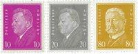 Tyskland - Tyske Rige 1930 - MICHEL 435/437 - Postfrisk