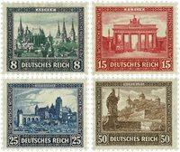 Tyskland - Tyske Rige 1930 - MICHEL 450/453 - Postfrisk