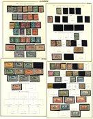 Algeria, Morocco and Tunisia - Collection in 1 pre-printed album