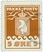 Grønland pakkeporto AFA 6 #