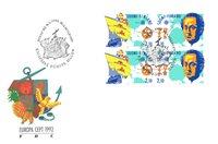 Finland 1992 - FDC - Firblok - LAPE nr. 1173-1174