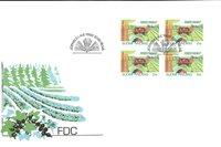 Finland 1992 - FDC - Firblok - LAPE nr. 1175