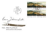 Finland 1993 - FDC - Firblok - LAPE nr. 1199-1200