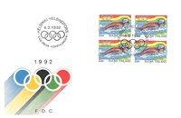 Finland 1992 - FDC - LAPE 1158