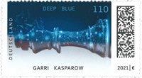 Alemania - Computadora Deep Blue - Kasparov - Sello nuevo