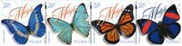 Pologne - Papillons - Série neuve 4v