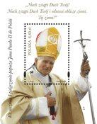 Polen - Pavens pilgrimsrejser - Postfrisk miniark
