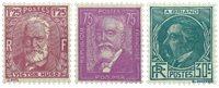 Frankrig 1933 - YT 291-93 - Ubrugt