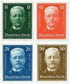 Tyskland - Tyske Rige 1927 - MICHEL 403/406 - Postfrisk